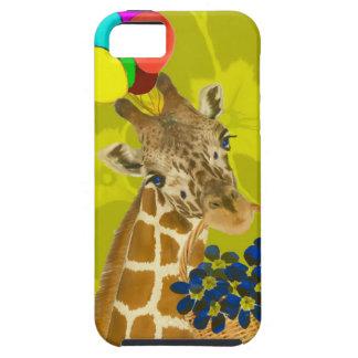 De giraf brengt gelukwensen tough iPhone 5 hoesje