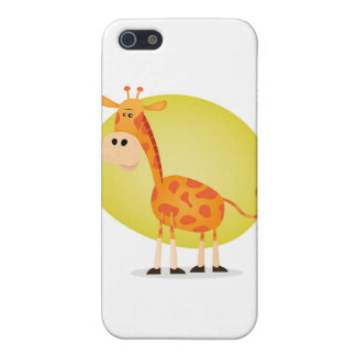 De Giraf van de cartoon iPhone 5 Cover