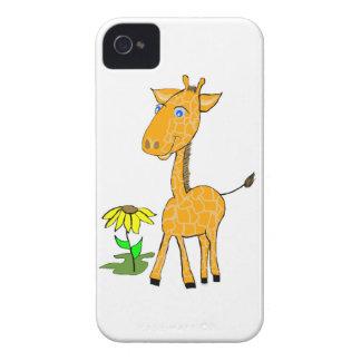 De Giraf van het Baby van de Dekking van Iphone iPhone 4 Hoesje