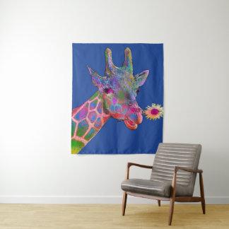 De Giraf van het pop-art Wandkleed