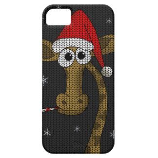 De Giraf van Kerstmis Barely There iPhone 5 Hoesje