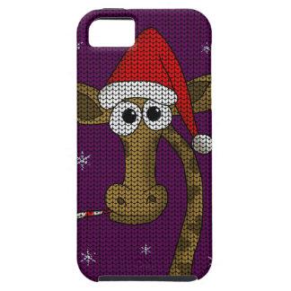 De Giraf van Kerstmis Tough iPhone 5 Hoesje
