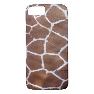 De giraf van PixDezines iPhone 7 Hoesje