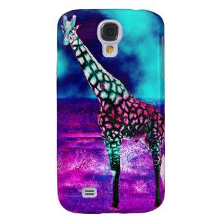 De Giraf van Trippy Galaxy S4 Hoesje