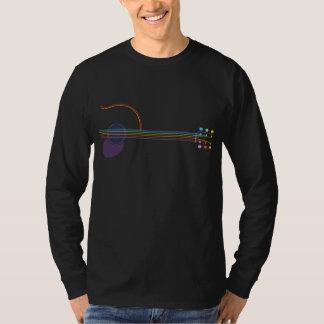 De Gitaar van het neon T Shirt