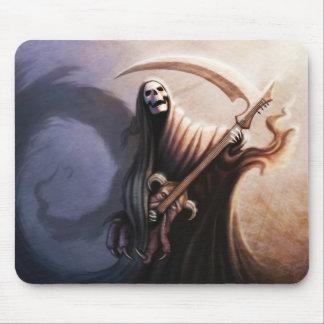 De Gitarist Mousepad van de dood Muismat