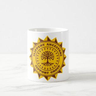 De gladde Voorvaderen steunen Groep Koffiemok