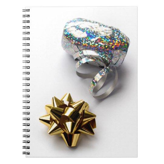 De Glanzende Boog van de Omslag van de gift en het Ringband Notitieboek