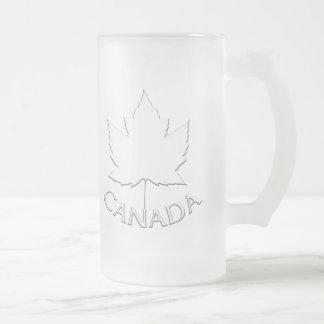 De Glazen van de Herinnering van het Blad van de Matglas Bierpul