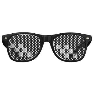 De Glazen van het Leven van de misdadiger Retro Zonnebril