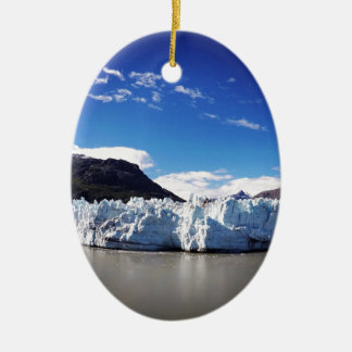 De Gletsjer van Alaska Keramisch Ovaal Ornament
