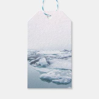 De Gletsjers van IJsland - Wit Cadeaulabel
