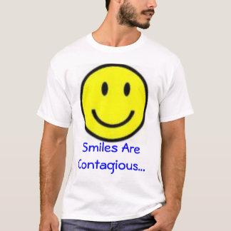De glimlach is Besmettelijk T Shirt