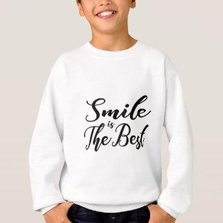 De glimlach is het beste trui