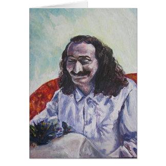 De glimlach van de Baba van Meher, KAART (leeg