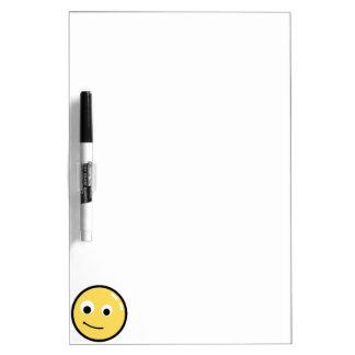 De Glimlach van het Gezicht van de cirkel Dry Erase Whiteboards