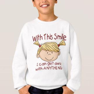 De Glimlach van het meisje Trui