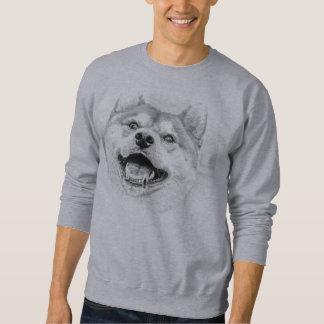 De glimlachende hond van Shiba Inu Trui