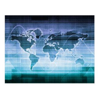 De globale Oplossingen van de Technologie Briefkaart