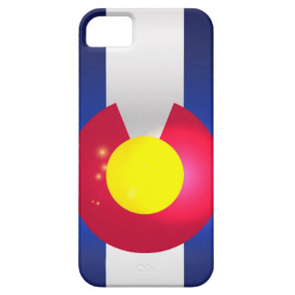 De Gloed van de Vlag van de Staat van Colorado Barely There iPhone 5 Hoesje