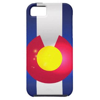 De Gloed van de Vlag van de Staat van Colorado Tough iPhone 5 Hoesje