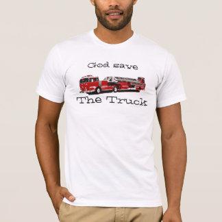 De god bewaart de Vrachtwagen T Shirt