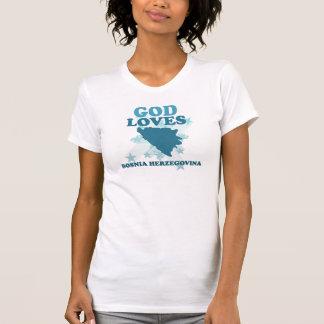 De god houdt van Bosnia - Herzegovina T Shirt