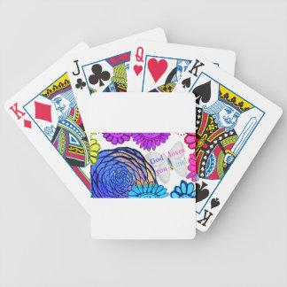 De god houdt van u en me! poker kaarten