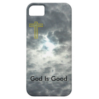 De god is Goed iPhoneSE + iPhone 5/5S Hoesje