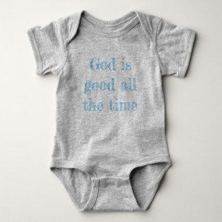 De god is het goede Overhemd van het Baby Romper