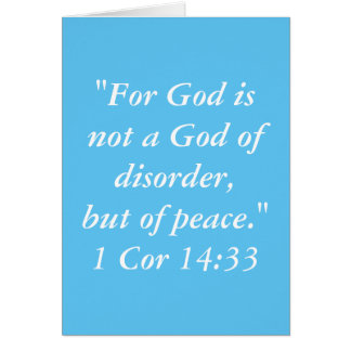 """De """"god is"""" het Wenskaart van het Heilige Schrift"""