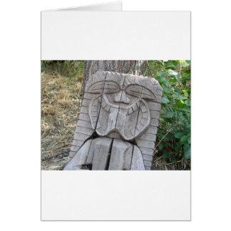 De God van Tiki Briefkaarten 0