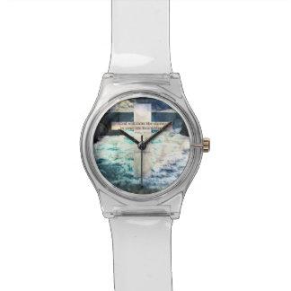 De god zal het storm in uw leven aan een horloge