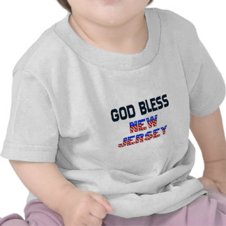 De god zegent New Jersey T Shirts