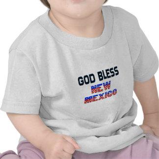 De god zegent New Mexico T-shirt