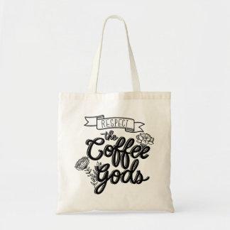 De Goden van de Koffie van de eerbied Draagtas