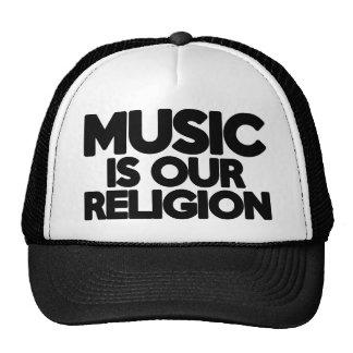 De Godsdienst van de muziek Mesh Pet