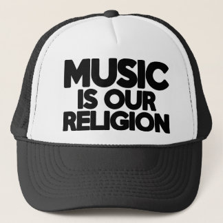 De Godsdienst van de muziek Trucker Pet