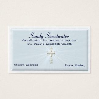 De godsdienstige Sjabloon van het Visitekaartje Visitekaartjes