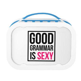 De goede Grammatica is Sexy Lunchbox