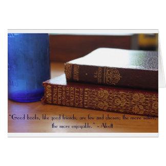De goede Kaart van het Citaat van Boeken