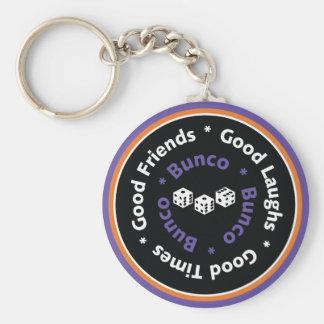 De Goede Paarse Vrienden van Bunco - Sleutelhanger