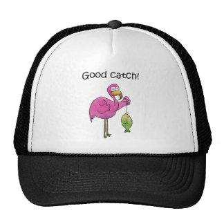 De goede Vissen van de Flamingo van de Vangst Grap Trucker Pet