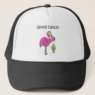 De goede Vissen van de Flamingo van de Vangst Trucker Pet