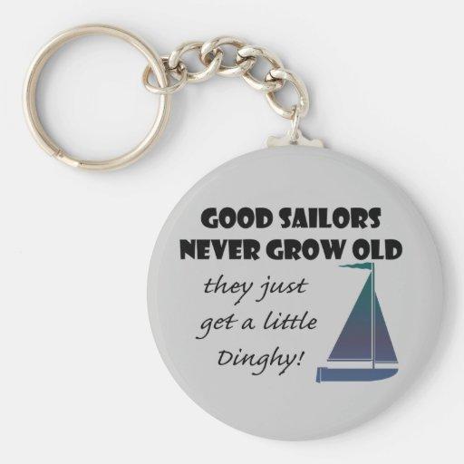 De goede Zeelieden kweken nooit het Oude, Spreuk v Sleutel Hanger