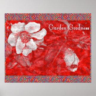 De Goedheid van de tuin Poster