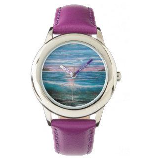 De golf van het strand horloge