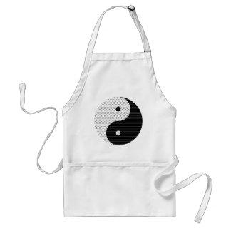 De Golven van Yang van Yin Standaard Schort