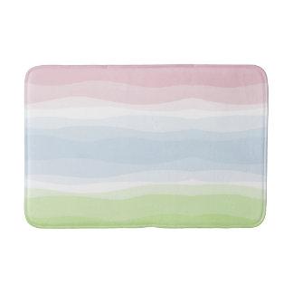 De golvende Badmat van de Pastelkleur