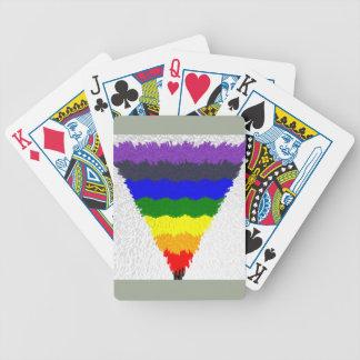 De golvende Trechter van de Driehoek van de Poker Kaarten